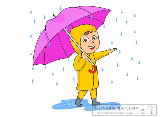 Umbrella And Rain Clipart - Clipart Kid