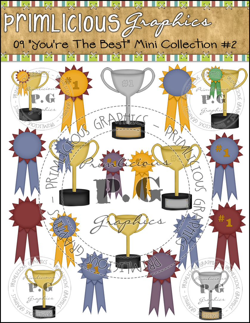 You Re The Best Clipart Collection  1  Reseller     4 99   Primlicious