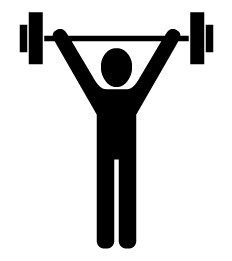 Clip Art Weight Lifting Clip Art weight lifting logos clipart kid absolutely free clip art sports images graphics