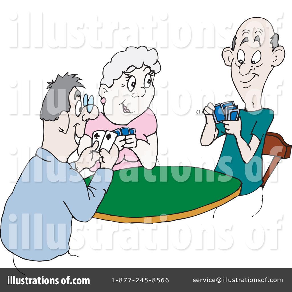 Blackjack table clipart