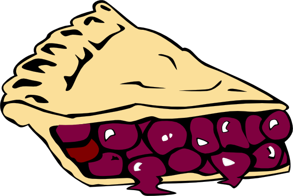 Cherry Pie Clip Art At Clker Com   Vector Clip Art Online Royalty