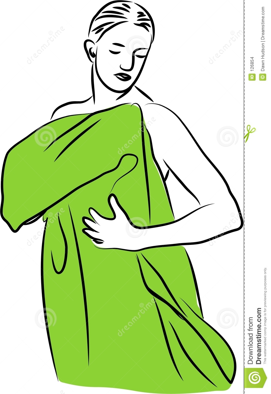 Dry Off With Towel Clipart - Clipart Suggest