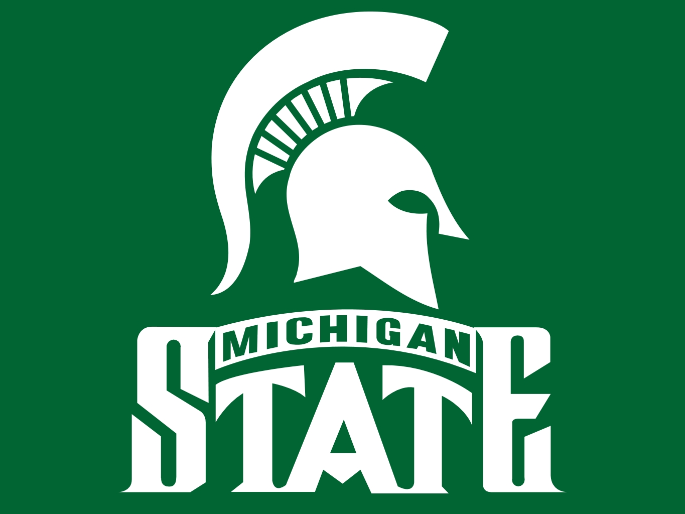 Michigan State Spartans Football Colors Green