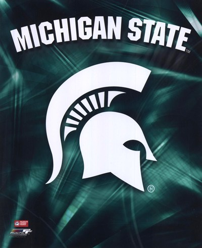 Michigan State University Spartans Logo   Buy Cheap Sports Posters And