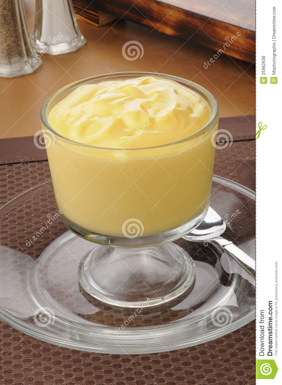 More Similar Stock Images Of   Rich Vanilla Pudding