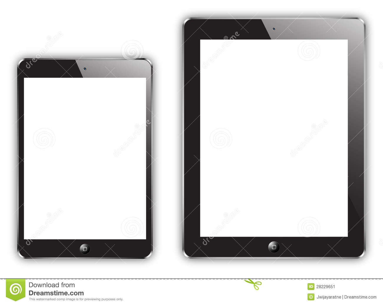 Ipad Black And White Clipart - Clipart Suggest