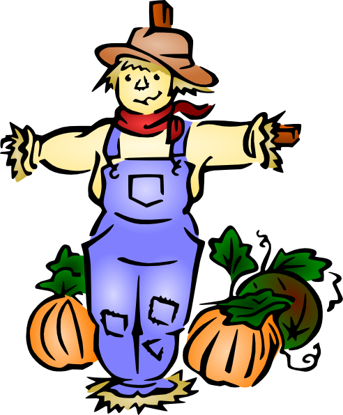Scarecrow Clip Art At Clker Com   Vector Clip Art Online Royalty Free