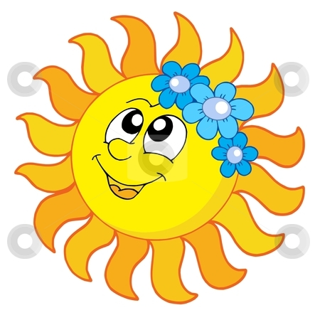 Smiling Sun Clip Art Cutcaster Photo 100361885 Smiling Sun With