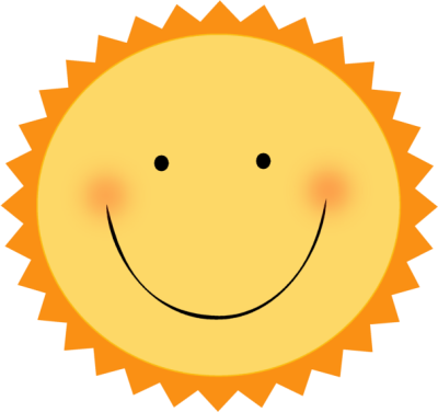 Smiling Sun Clipart Smiling Hot Sun Png