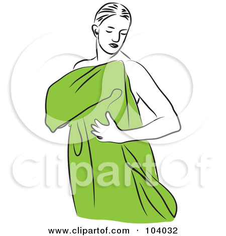Dry Off With Towel Clipart - Clipart Kid