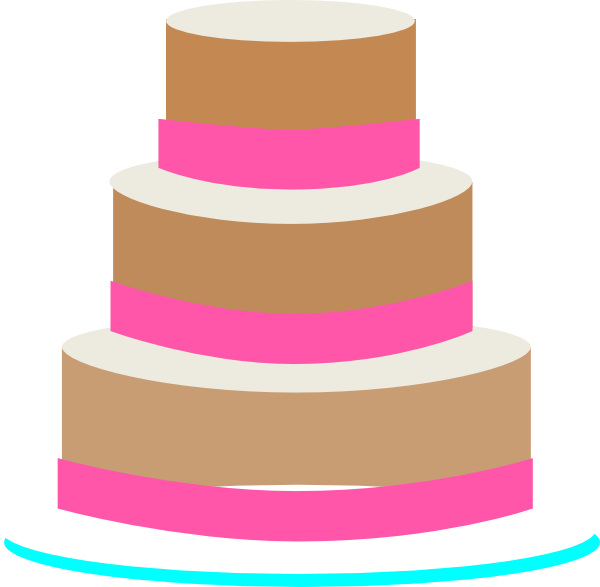 Three Layer Cake Clip Art : 3 Layer Cake Clipart - Clipart Suggest
