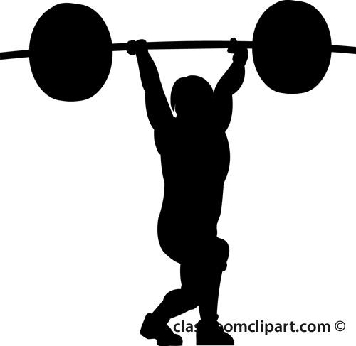 women weight lifting silhouette clip art cliparts weightlifting clipart black and white weight lifting clip art free