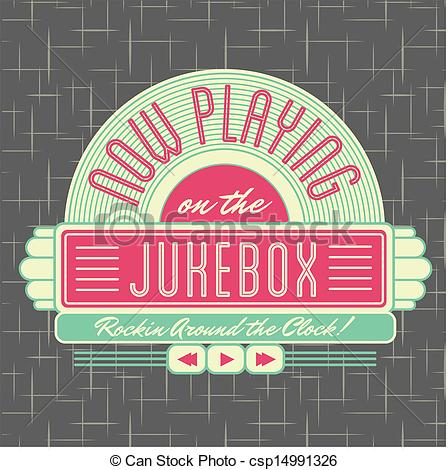 1950s Jukebox Style Logo Design   All Fonts Shown Are For Visual