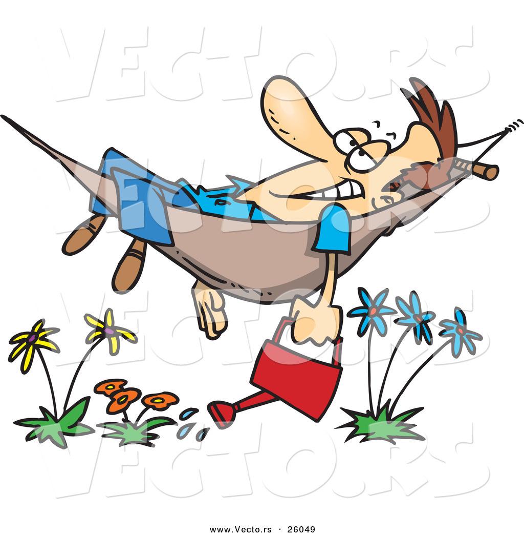 free clipart hammock cartoon - photo #26