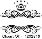 Free  Rf  Black And White Design Element Clipart   Illustrations  1