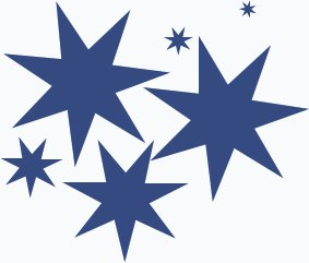 Free Splash Of Stars 3 Clipart