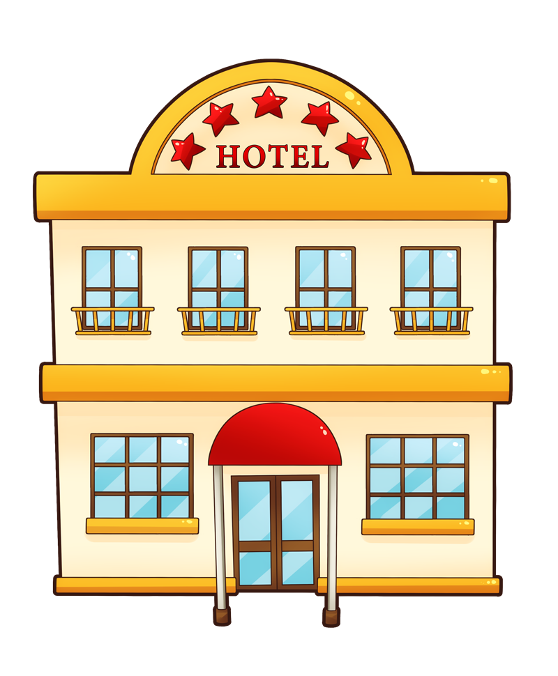 Building Clip Art : Hotel building clipart suggest