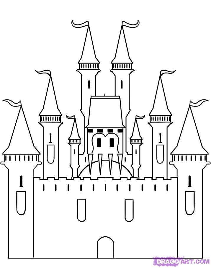 How To Draw A Castle Step 5 1 000000000276 5 Jpg