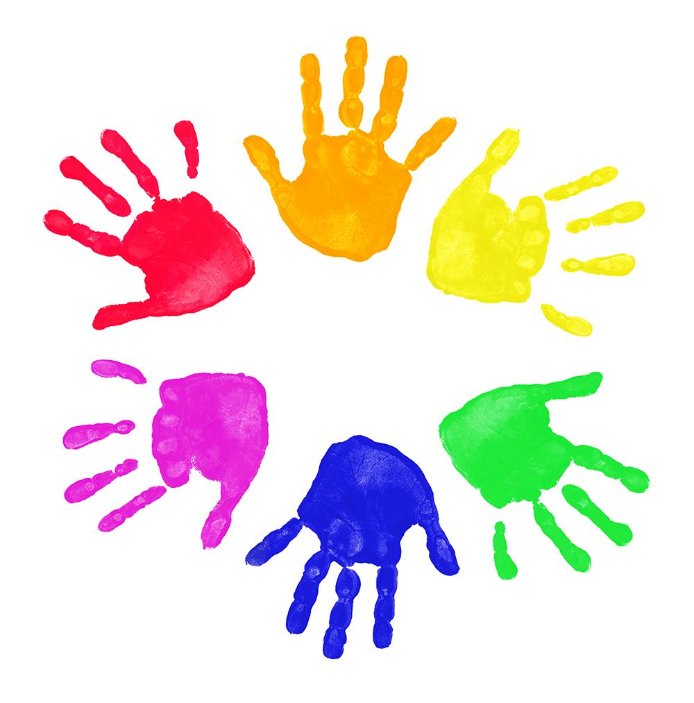 Clip Art Handprint Clipart handprint clipart kid kids panda free images