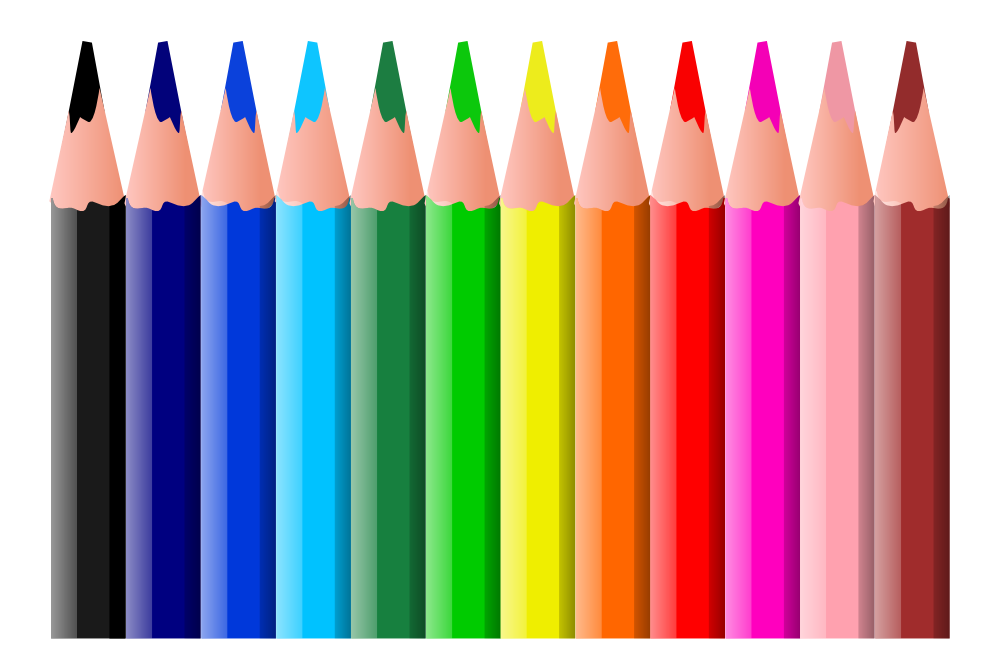 Pencil No Background Clipart - Clipart Kid