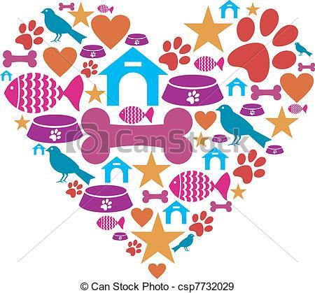 Pet Love Clip Art