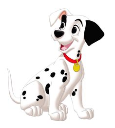 Puppy 101 Dalmatians Png Clipart Picture   Png Perfection   Pinterest