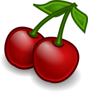 Rocket Fruit Cherries Clip Art At Clker Com   Vector Clip Art Online