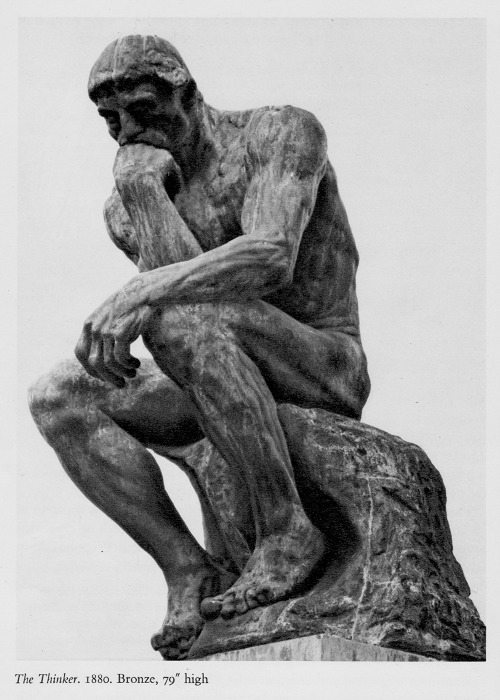 Rodin The Thinker Clipart - Clipart Suggest