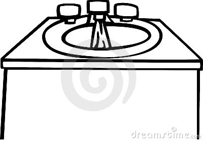 Clip Art Sink Clipart clip art black and white kitchen sink clipart kid 20clipart panda free images