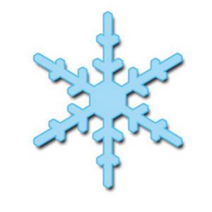 Snowflake Clipart Is Colored  We Hope You Enjoy This Snowflake Clipart