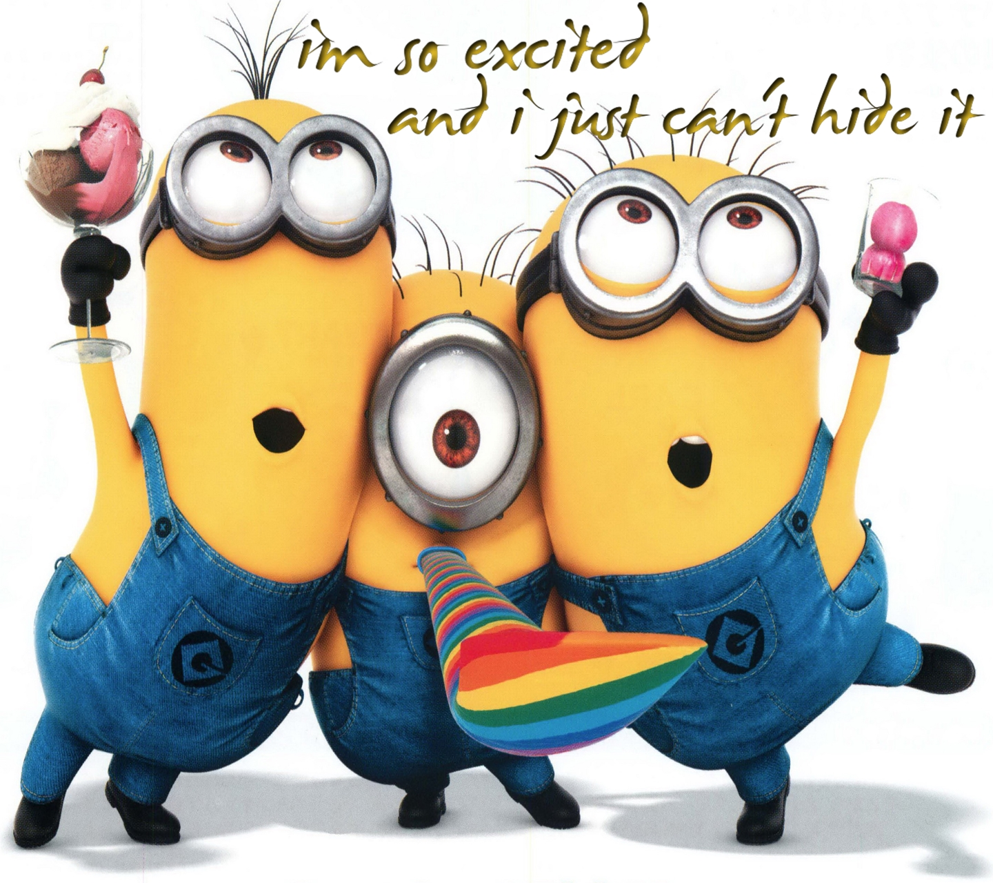 So Excited Minions 1440 X 1280 Wallpapers   I M So Excited