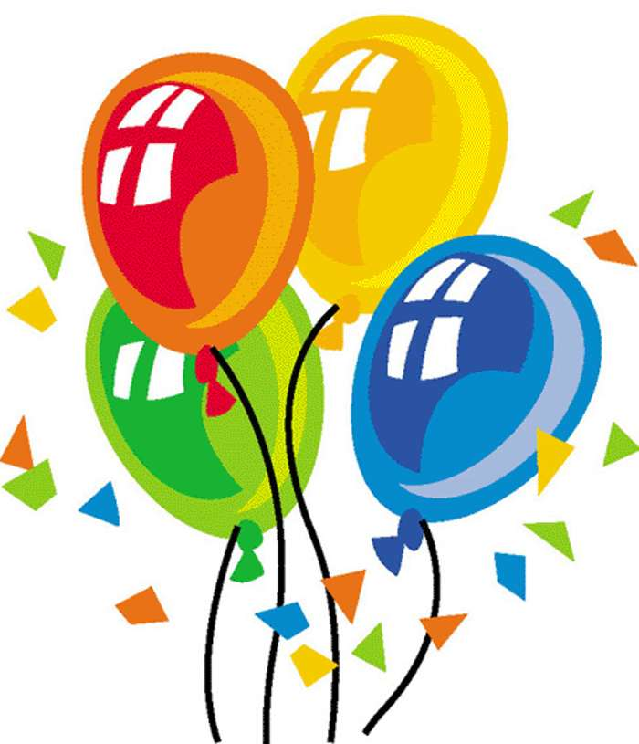 11 Happy Birthday Balloon Clipart Free Cliparts That You Can
