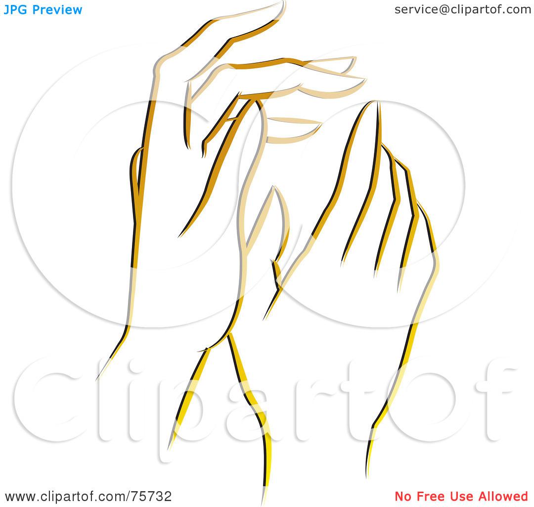 gentle hands clipart - photo #8