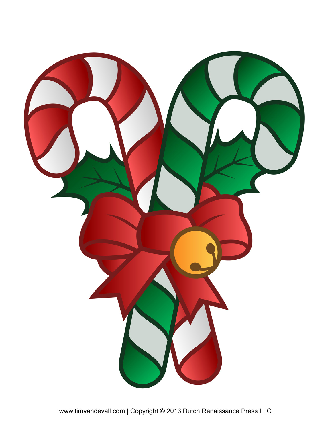 Christmas Candy Cane Clipart - Clipart Kid