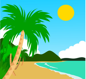 Beach Scene Clip Art Images   Pictures   Becuo