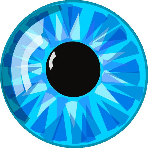 Blue Eye Clip Art At Clker Com   Vector Clip Art Online Royalty Free