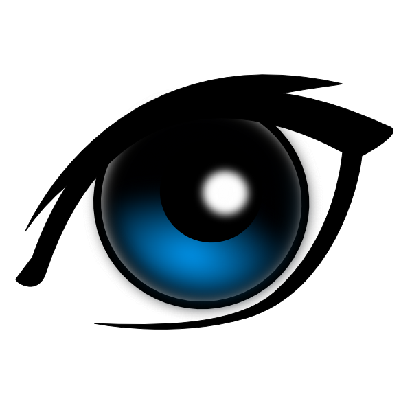 Cartoon Eye Clip Art At Clker Com   Vector Clip Art Online Royalty