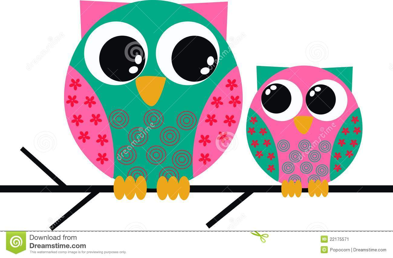 Cute Owl On Branch Clip Art Cute Owl Clip Art
