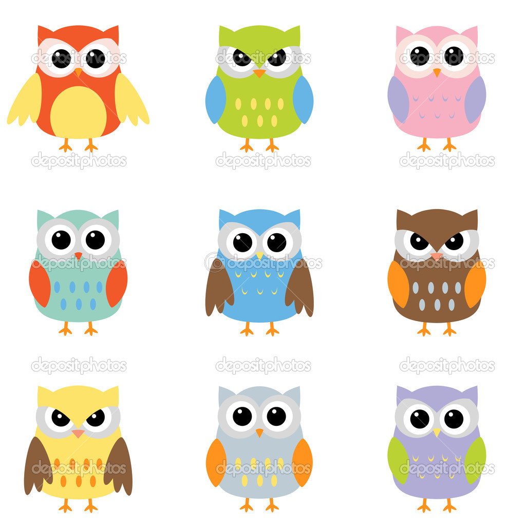 Cute Owl On Tree Clipart   Clipart Panda   Free Clipart Images