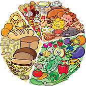 Diet Illustrations And Clipart