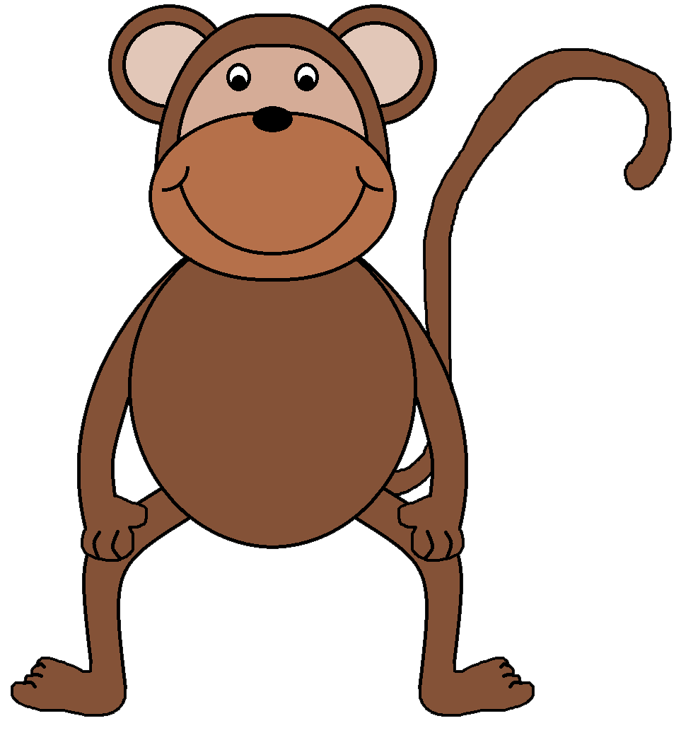 Clip Art Clip Art Monkey monkey clipart kid download the files here