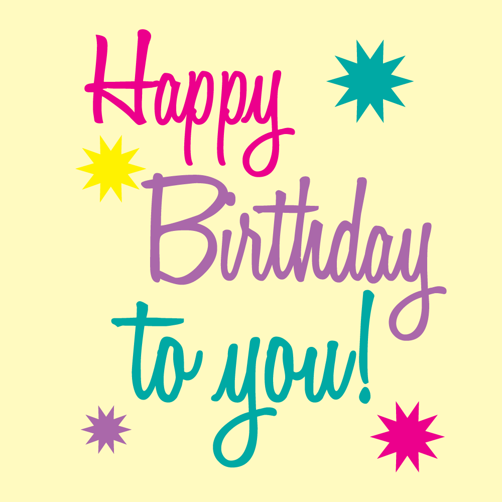 Free Birthday Graphics Happy Birthday To You Image