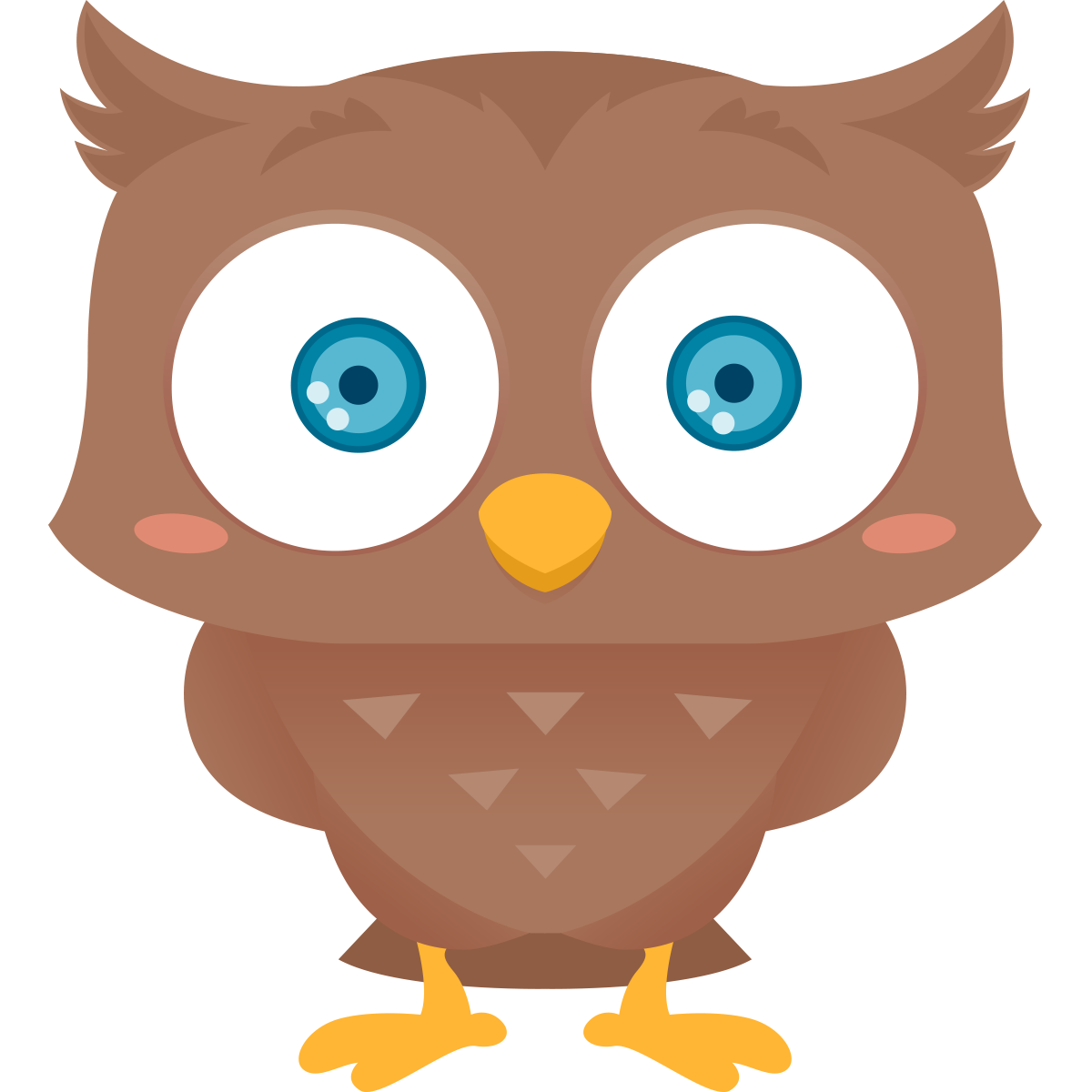 Cute owl clip art png - photo#8