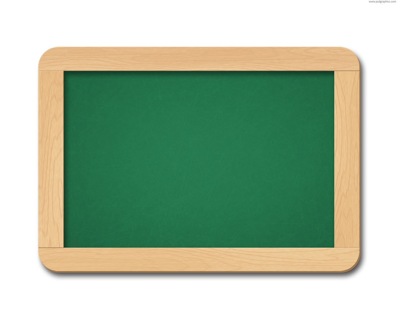 Full Size Jpg Preview  Chalkboard With Chalk Brush