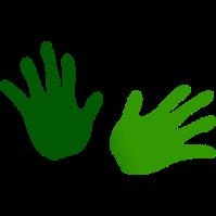 gentle hands clipart - photo #12