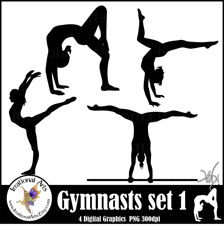 Gymnastics Clipart Silhouette   Clipart Panda   Free Clipart Images