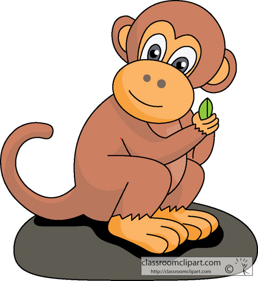 Clip Art Clip Art Monkey monkey clipart kid cartoon 112 classroom clipart