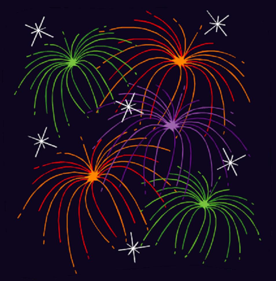 Clip Art Moving Animations Fireworks Clipart - Clipart Kid