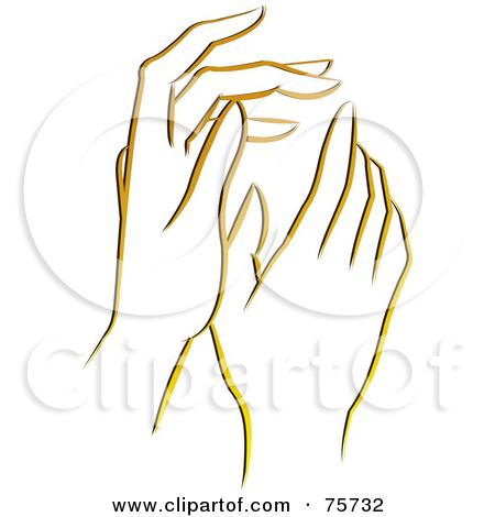 gentle hands clipart - photo #19