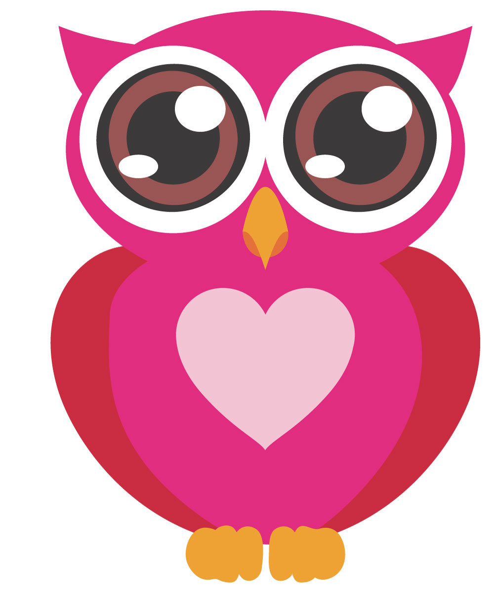 Pink Baby Owl Clipart   Clipart Panda   Free Clipart Images